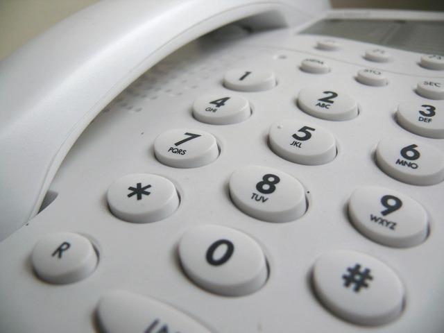 Phone digits
